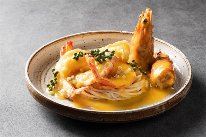 花椒鲜大虾天使面 Spicy Soup noodle with Shrimp