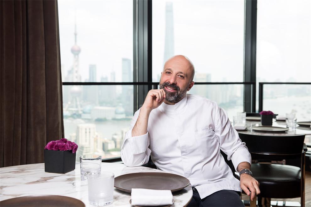 米其林星厨 Niko Romito于上海宝格丽酒店 Niko Romito, Michelin Star Chef, at Il Ristorante - Niko Romito of Bulgari Hotel Shanghai