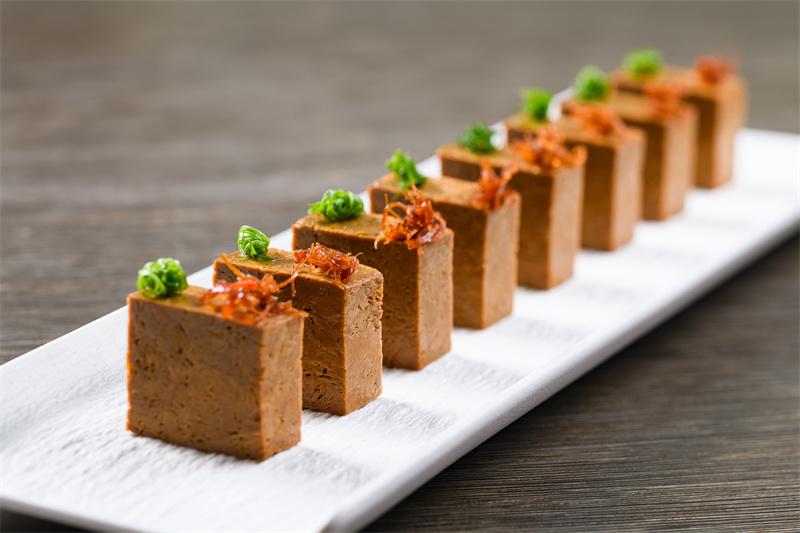 悦轩卤水豆衣Marinated tofu skin roll, Chinese spices, soy sauce